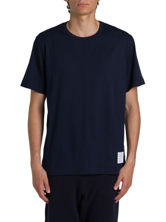 Thom Browne Side-slits Relaxed Tee