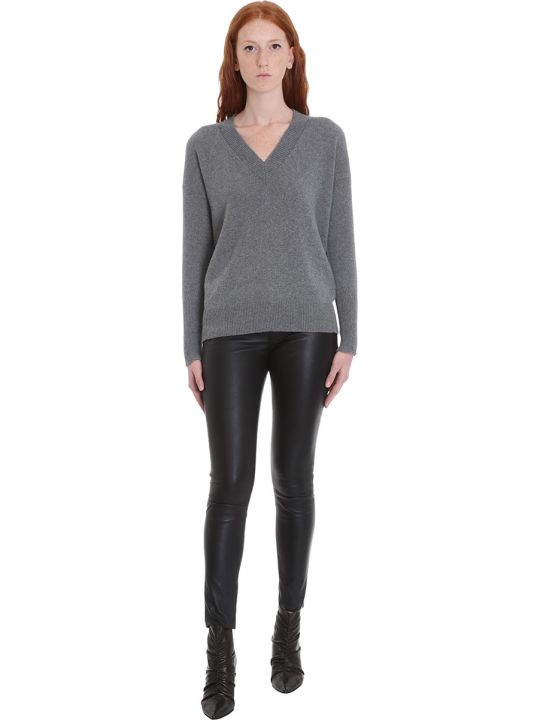 Mauro Grifoni Knitwear In Grey Wool
