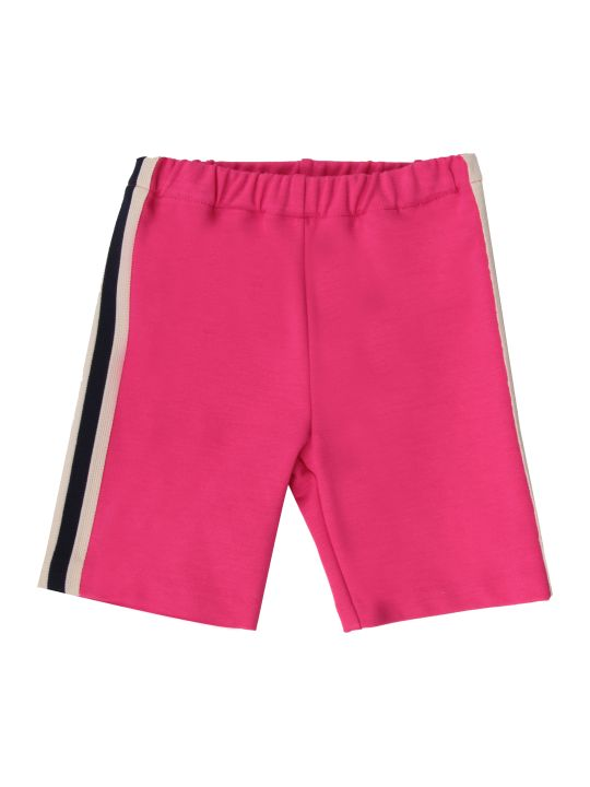 Gucci Fuchsia Baby Girl Pants With Stripes