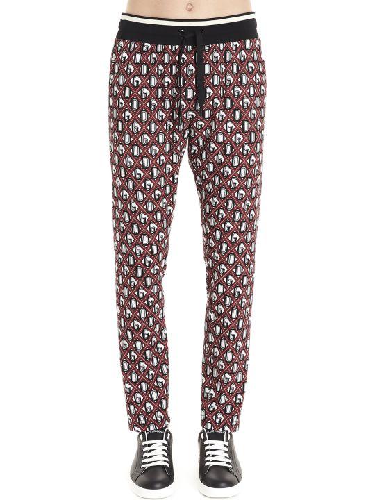 Dolce & Gabbana 'dg Rete' Sweatpants