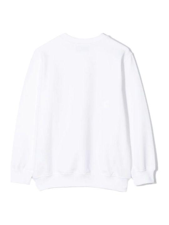 Moschino White Cotton Sweatshirt