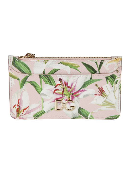 Dolce & Gabbana Dauphine Print Card Holder