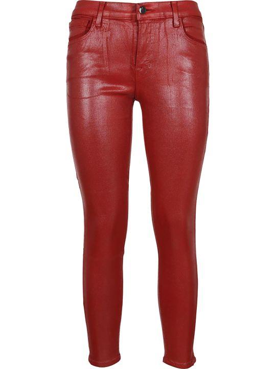 J Brand Jbrand Cropped Skinny Jeans