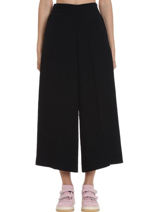 Acne Studios Pancy Flu Pants In Black Tech/synthetic