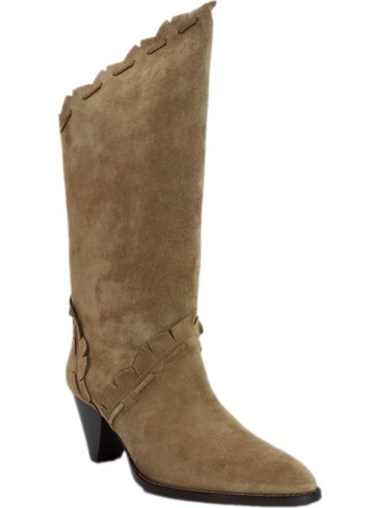 Isabel Marant Brown Suede Boots