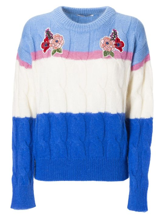 Vivetta Floral Embroidered Sweater