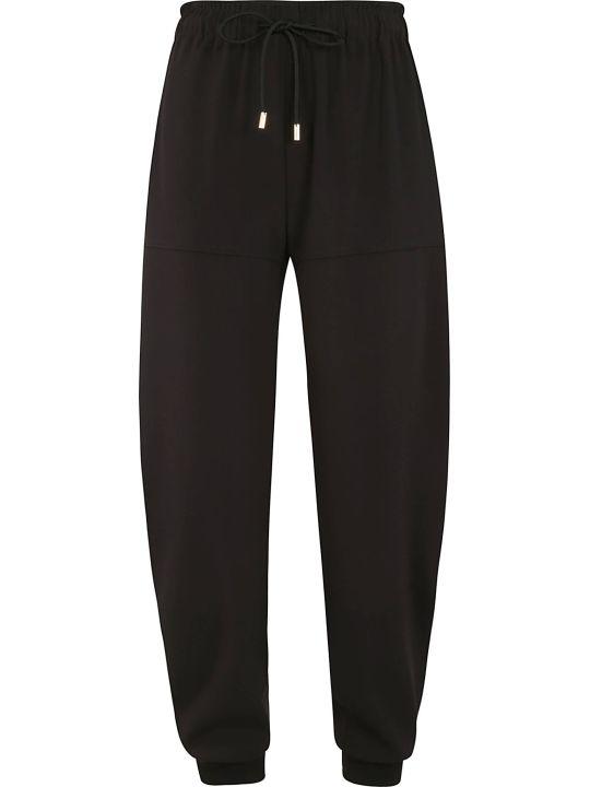 Chloé Drawstring Wide Leg Track Pants