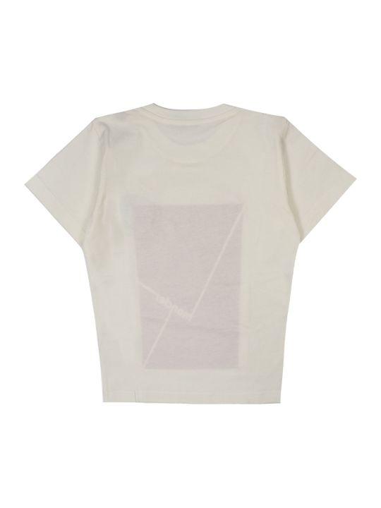 Moncler White Cotton T-shirt