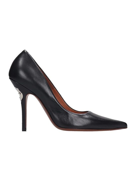 VETEMENTS Pumps In Black Leather