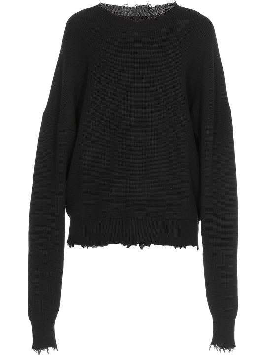 Ben Taverniti Unravel Project Cotton And Cashmere Sweater