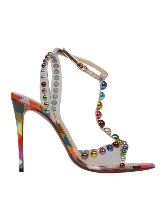 Christian Louboutin Pin Heels Elegant Style Sandals