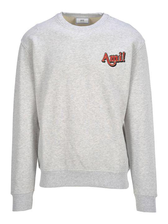 Ami Alexandre Mattiussi Ami Fleece Ami Logo
