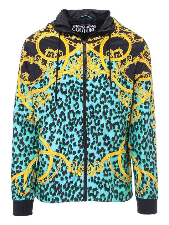 Versace Jeans Couture Printed Leo Chain Jacket