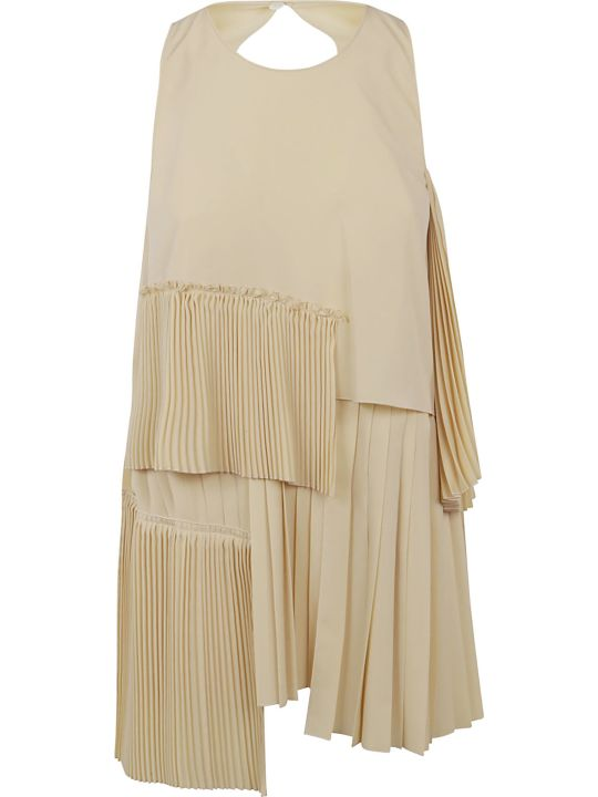 N.21 Asymmetric Pleated Top