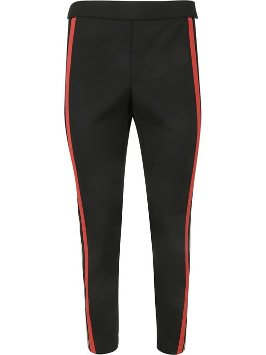 Alexander McQueen Striped Trim Trousers