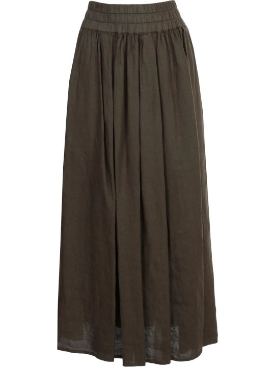 Aspesi Long Linen Skirt