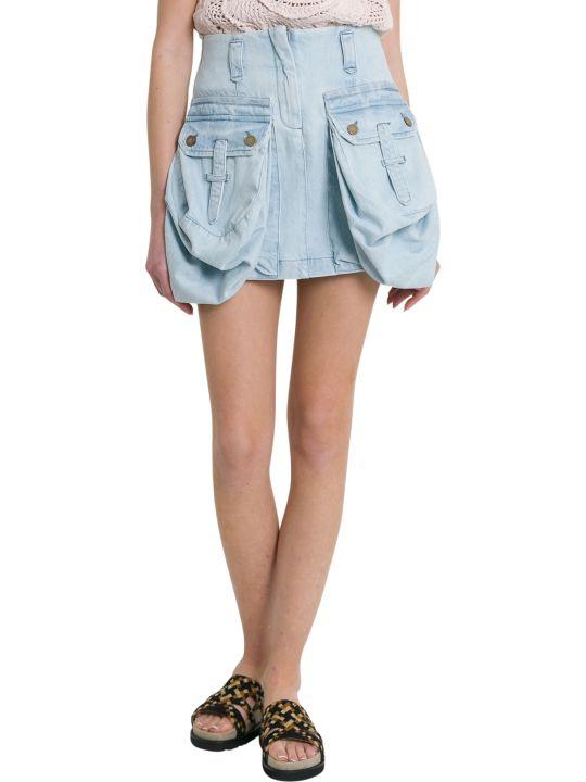 Alberta Ferretti Worker Miniskirt