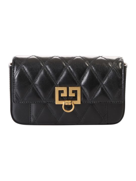 Givenchy Black Mini Quilted Shoulder Bag
