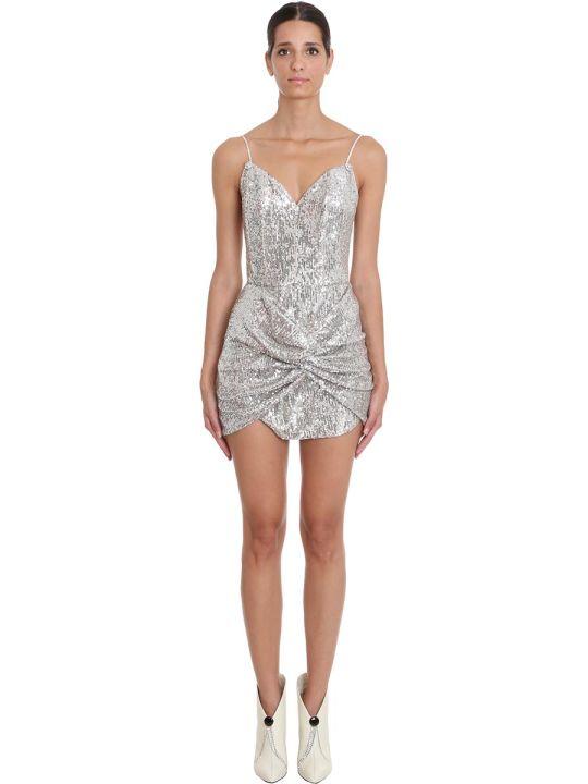 Magda Butrym Dress In Beige Polyamide
