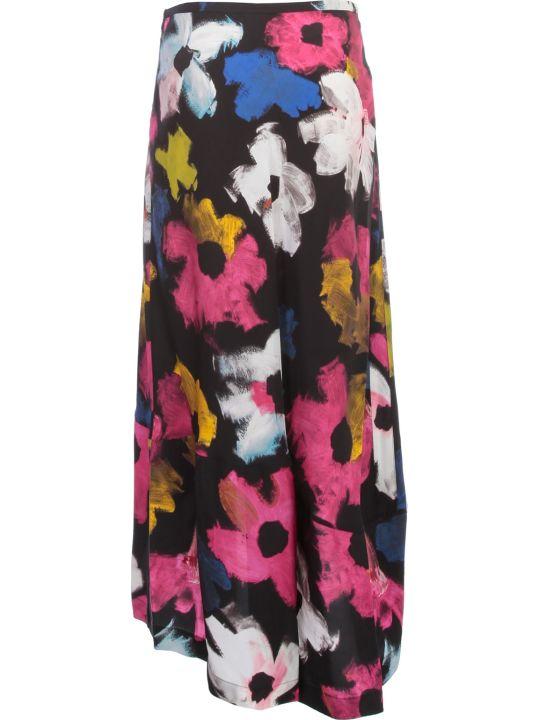 Colville Skirt Flounce Flowers Printing