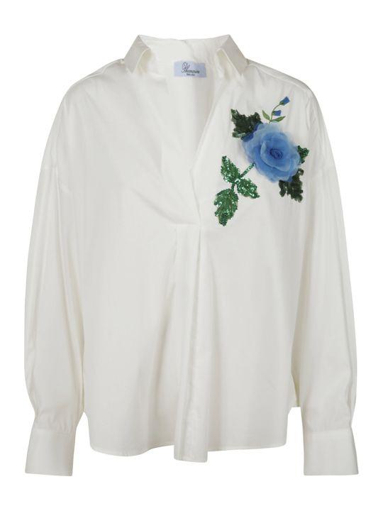 Blumarine Floral Embellished Shirt