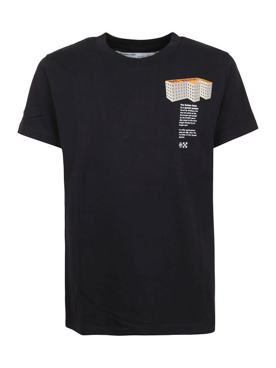 Off-White F Building S/s Slim Tee