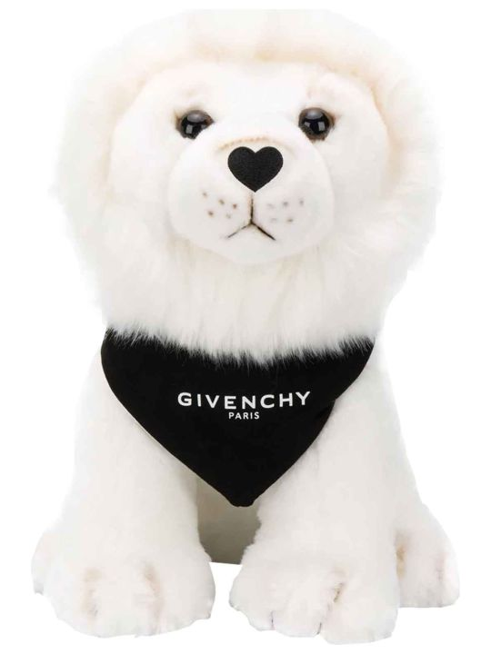 Givenchy Plush White Bear