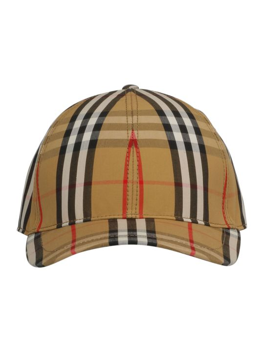 Burberry Vintage Check Pattern Cap
