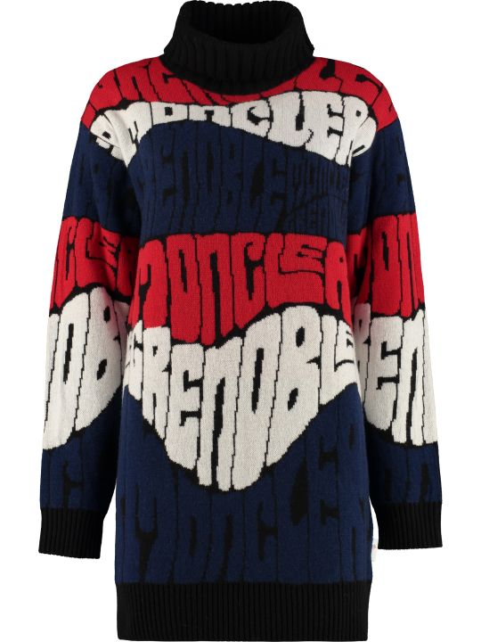 Moncler Grenoble Intarsia Wool And Cashmere Sweater