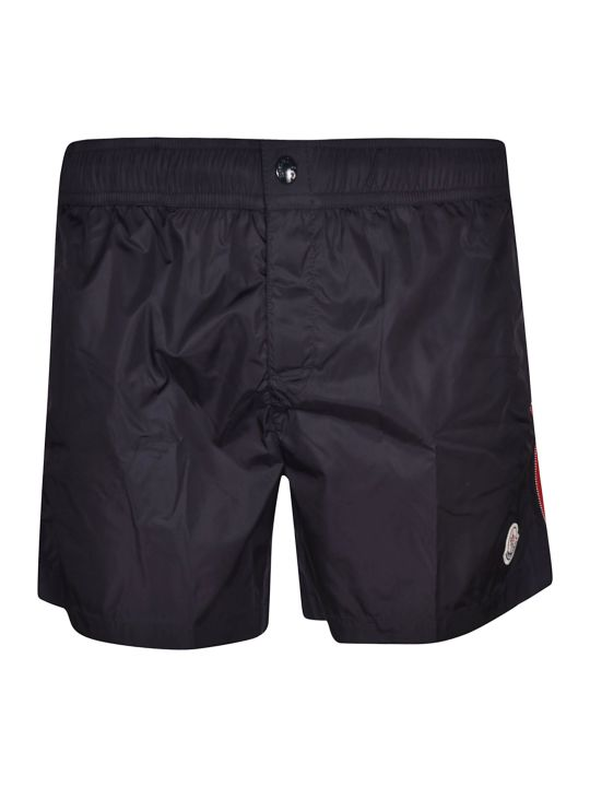 Moncler Side Striped Swim Shorts
