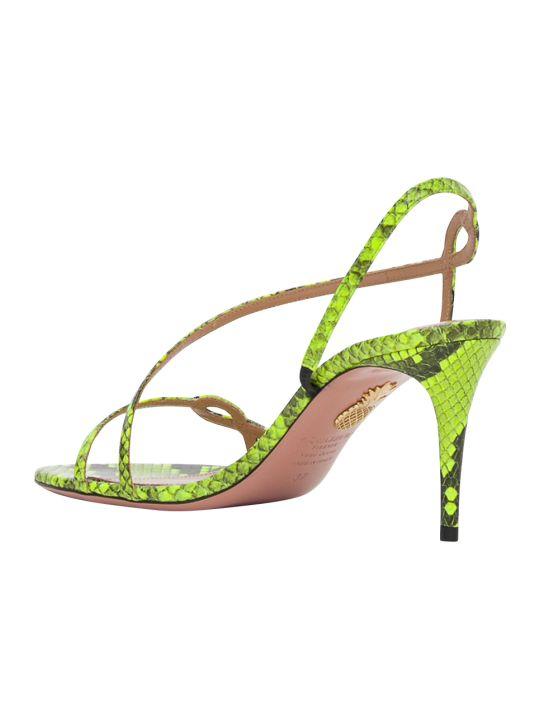 Aquazzura Sepentine 75 Sandals