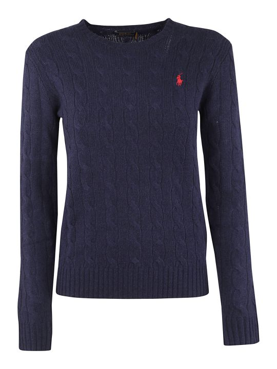 Ralph Lauren Embroidered Logo Sweater