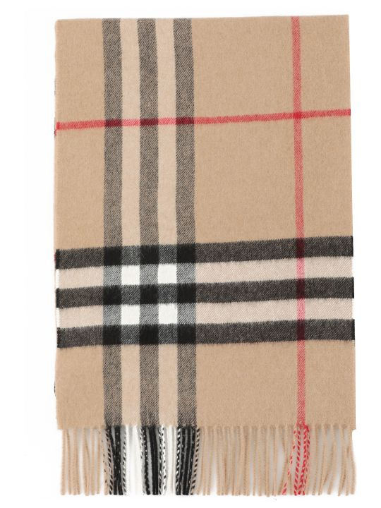 Burberry Mu Giant Check Scarf