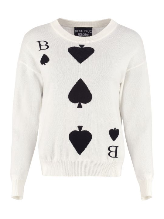 Boutique Moschino Wool And Cashmere Pullover