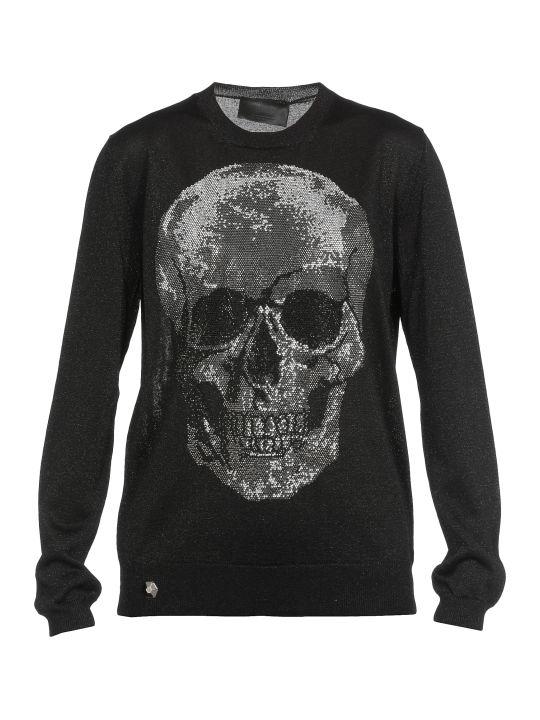Philipp Plein Lurex Sweater