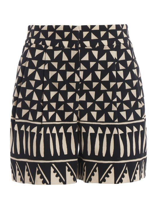 Alberta Ferretti Multi-pattern Shorts