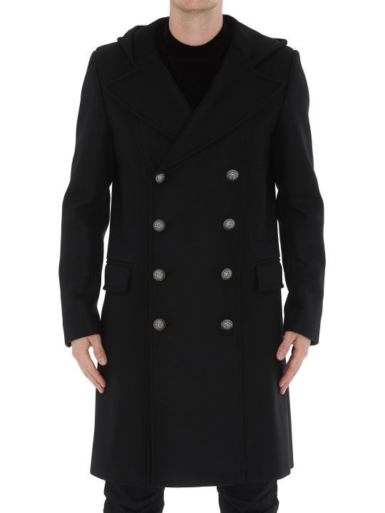 Balmain Hooded Coat