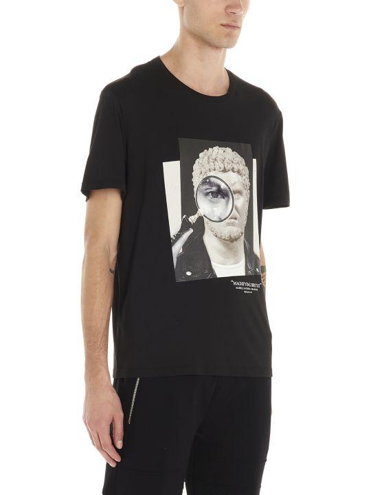 Neil Barrett 'magnfying Brutus' T-shirt