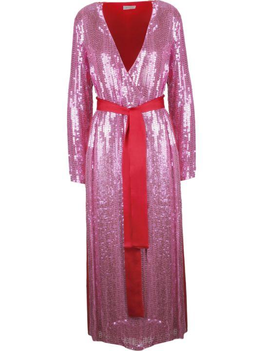 ATTICO The Attico Tie Waist Long Dress