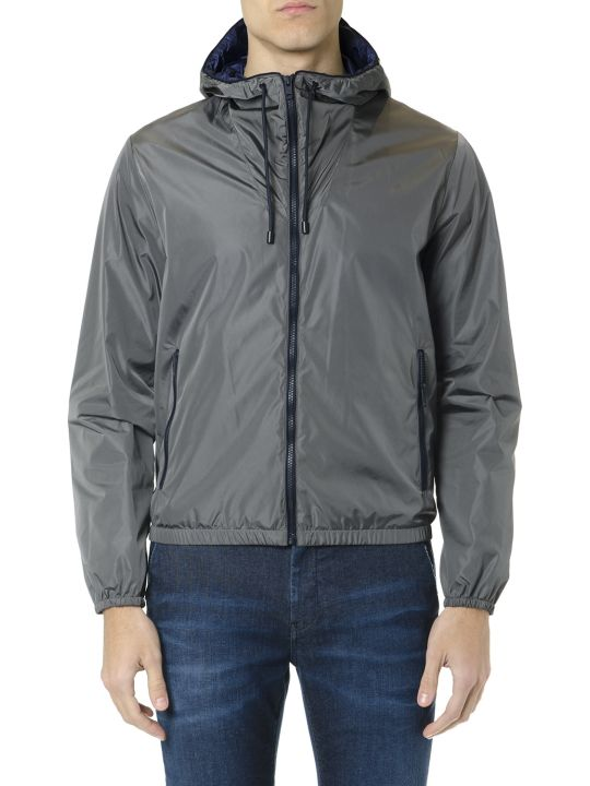 Fay F-way Gray Technical Fabric Jacket