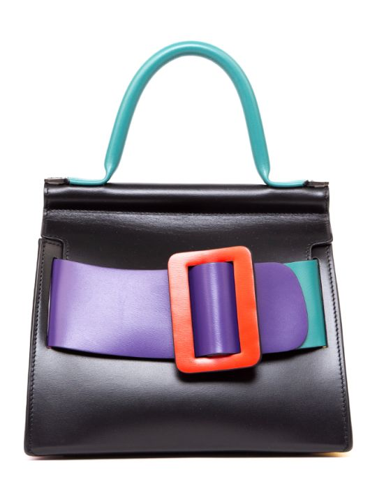BOYY Karl 24 Color Block Learther Bag