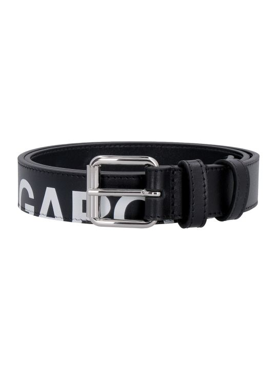 Comme des Garçons Wallet Leather Belt With Buckle