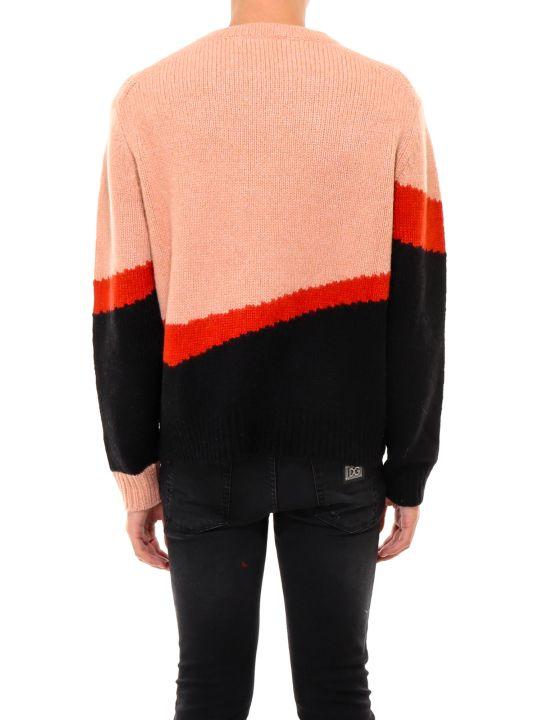 Neil Barrett Thunderbolt Tech Knit Sweater