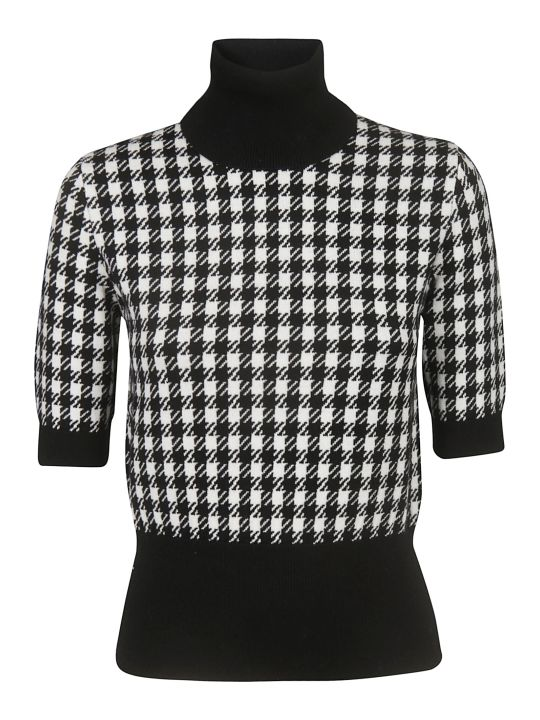Dolce & Gabbana Checked Top