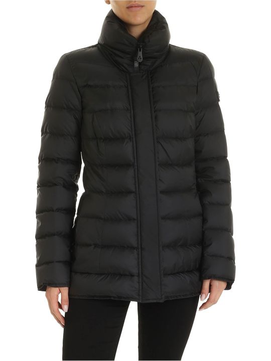 Peuterey Black Flagstaff Nylon Down Jacket