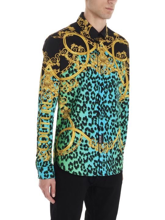 Versace Jeans Couture 'leo Chain' Shirt