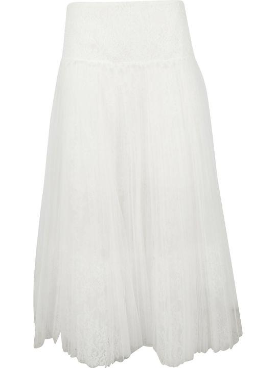 Ermanno Scervino Lace Midi Skirt