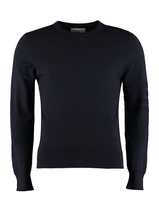 Thom Browne Crew-neck Wool Sweater