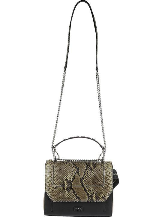 Lancel Snake Print Bag