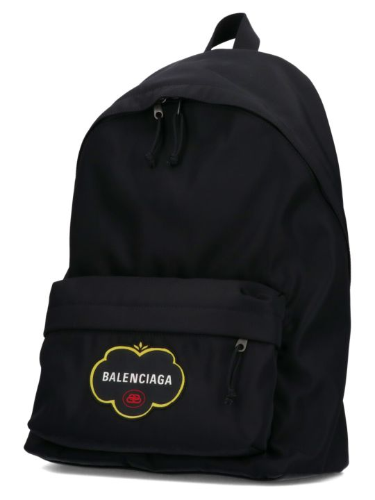 Balenciaga Logo Fruit Explorer Backpack